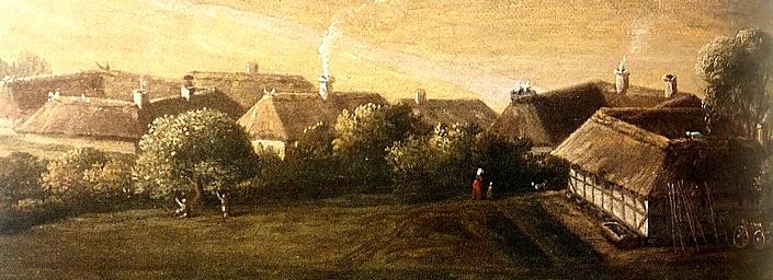 landsby og land områdeer