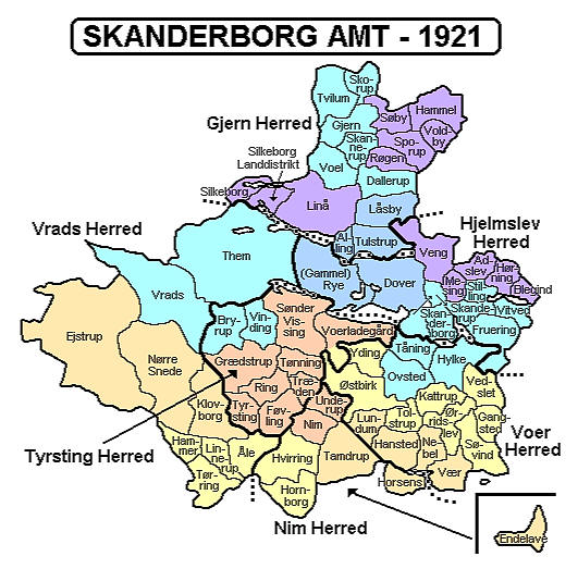 skanderborg kommune kort